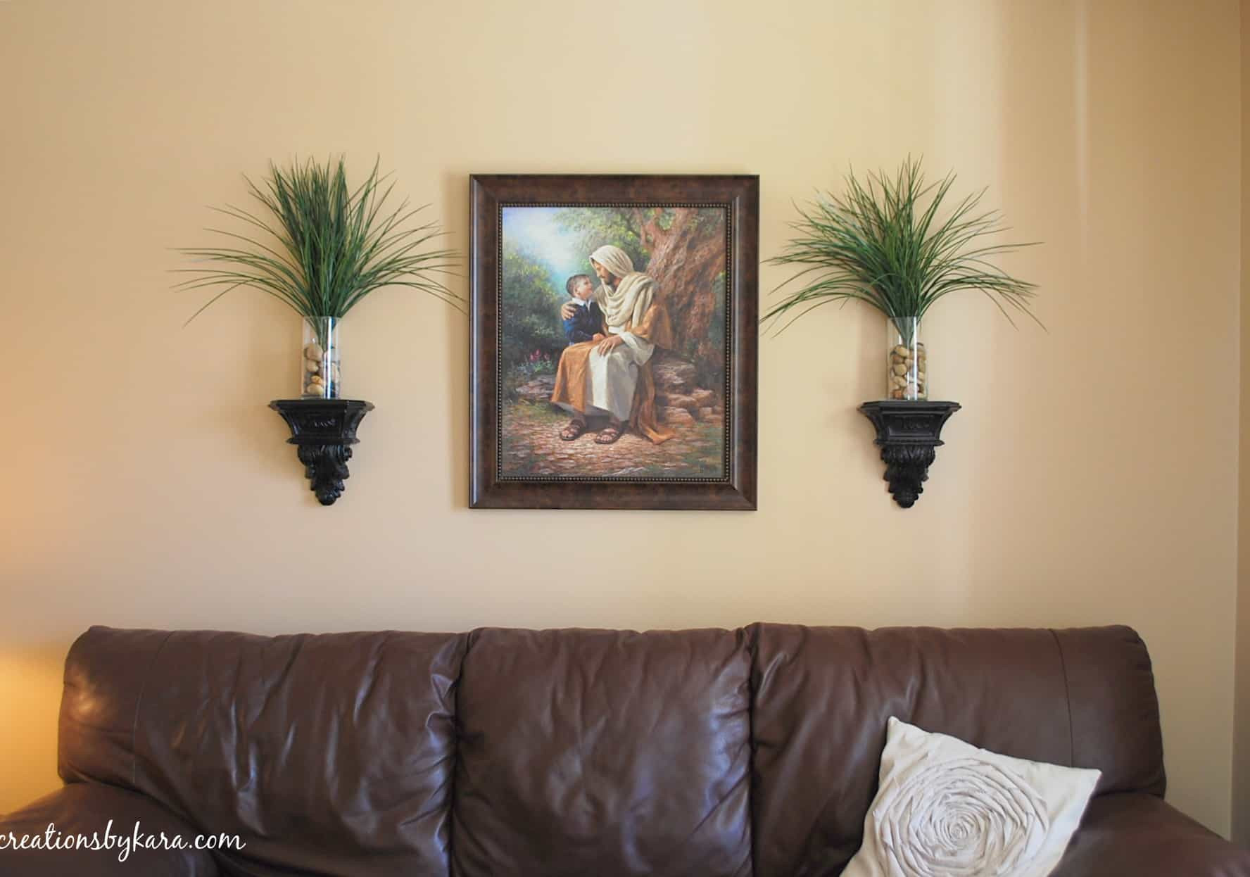 Best ideas about Living Room Wall . Save or Pin DIY Decorating Living Room Table Creations by Kara Now.