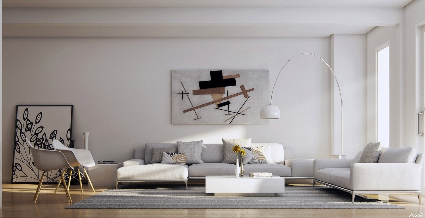 Best ideas about Living Room Wall . Save or Pin 25 Tasteful Living Rooms Now.