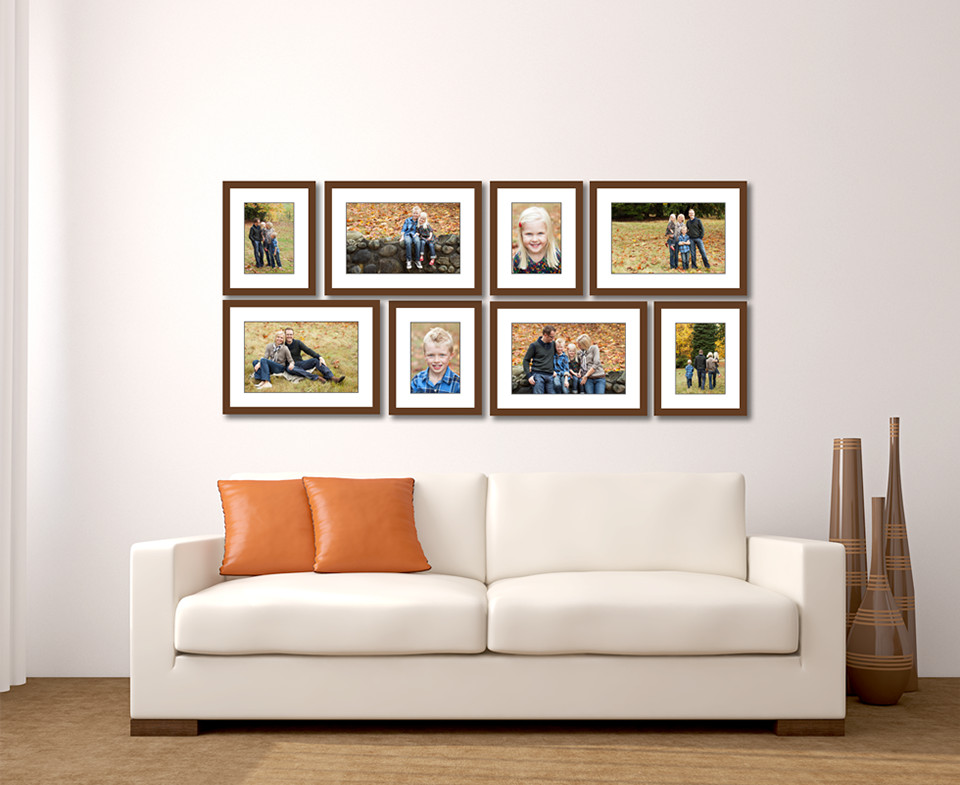Best ideas about Living Room Wall . Save or Pin Living Room Wall Gallery Jenn Di Spirito graphy Now.