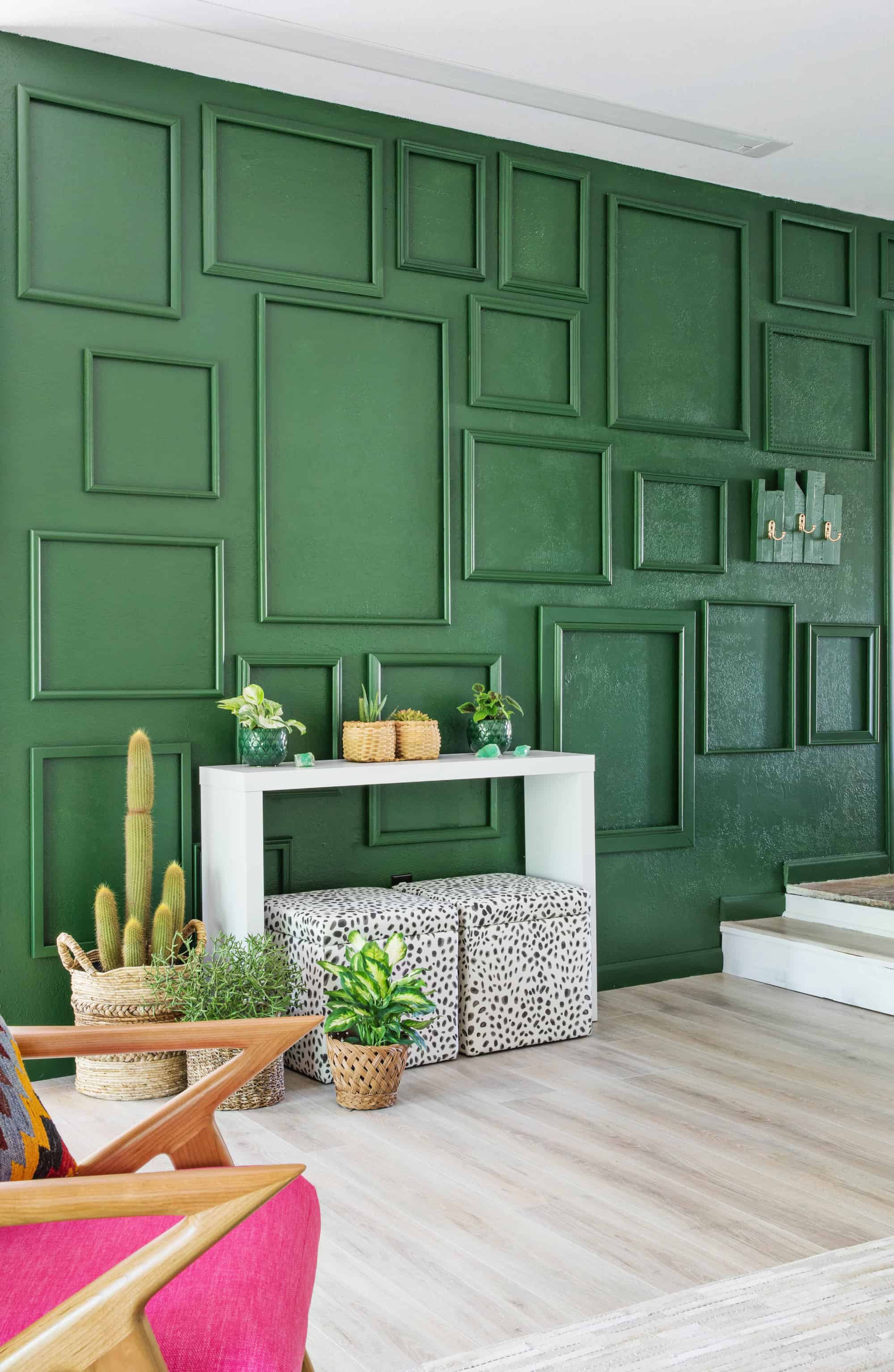 Best ideas about Living Room Wall . Save or Pin My Easy Living Room Accent Wall A Beautiful Mess Now.