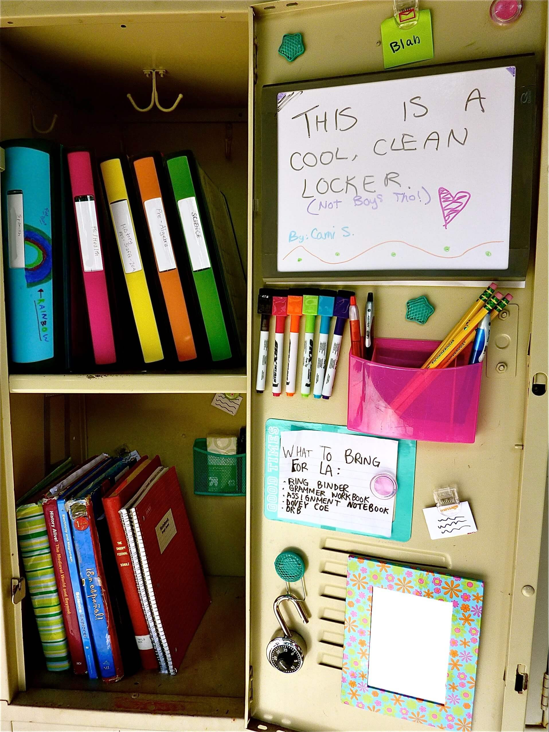 Best ideas about Locker Organizer DIY . Save or Pin 25 DIY Locker Decor Ideas for More Cooler Look Now.
