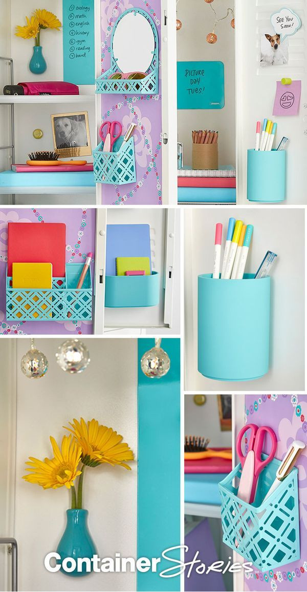 Best ideas about Locker Organizer DIY . Save or Pin 182 best images about Back to School on Pinterest Now.