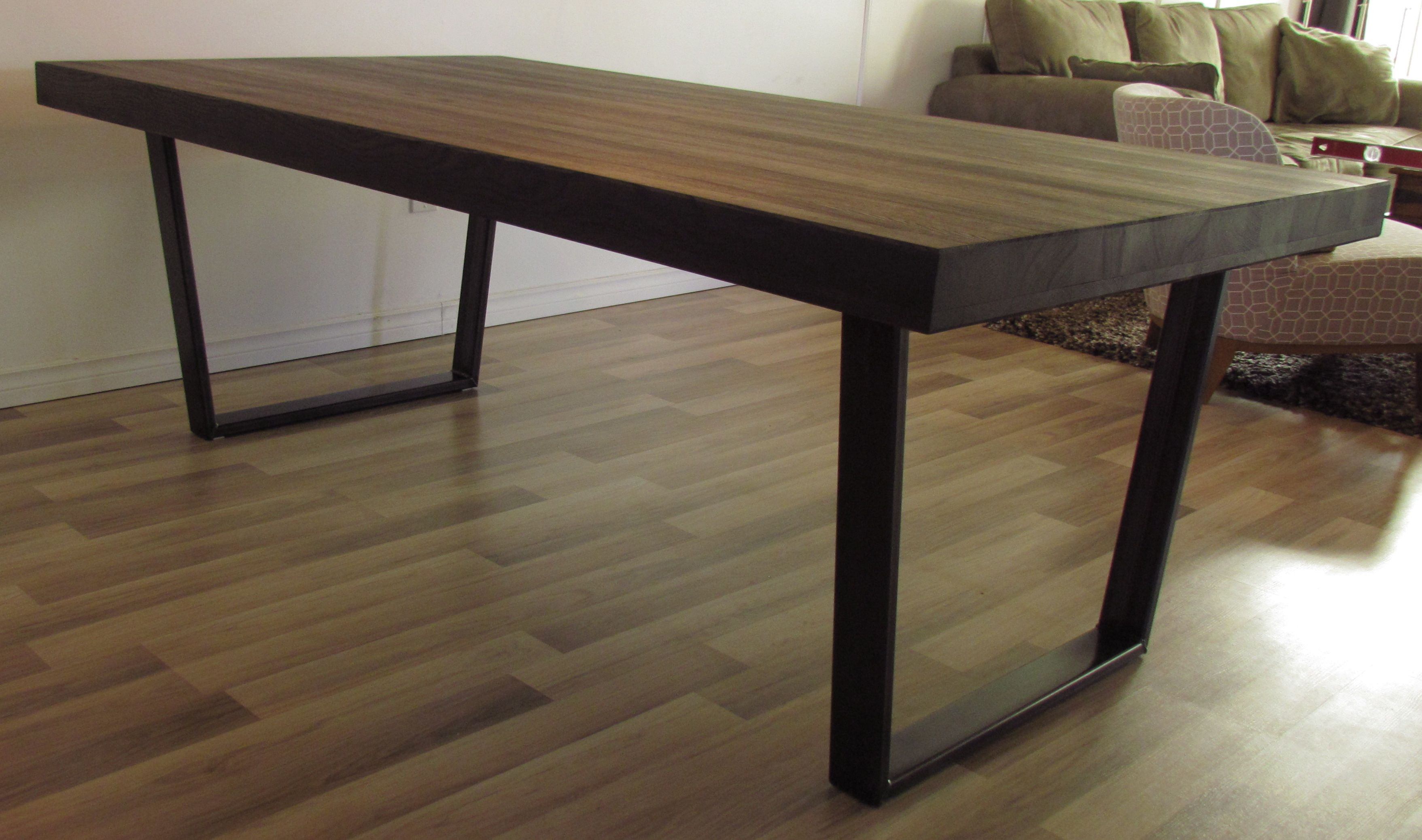 Best ideas about Long Narrow Dining Table . Save or Pin Furniture Farmhouse Dining Furniture Sets Ideas With Long Now.