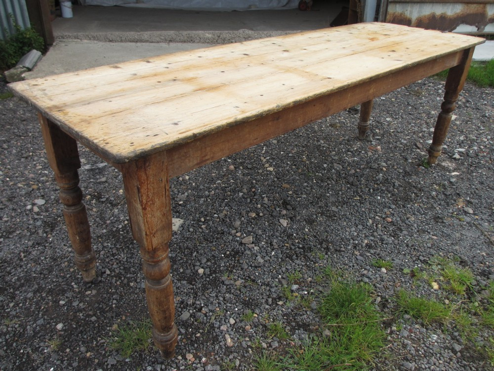 Best ideas about Long Narrow Dining Table . Save or Pin Victorian Long Narrow Plank Top Pine Kitchen Refectory Now.