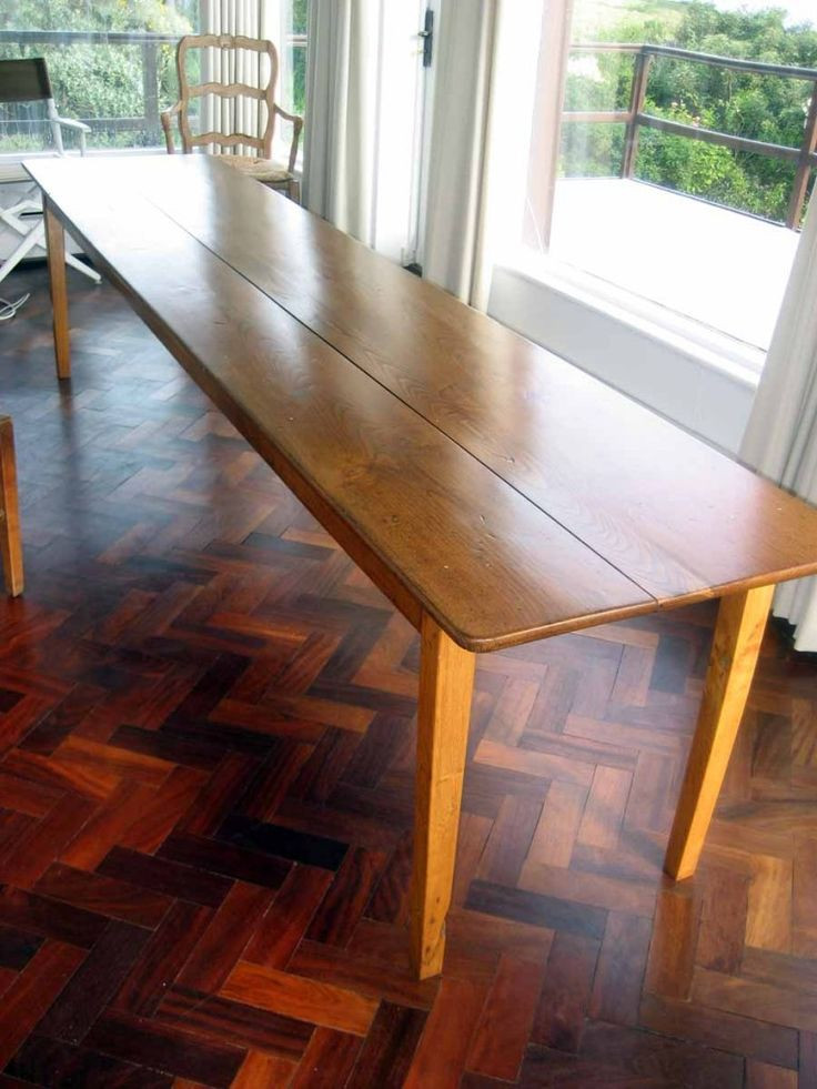 Best ideas about Long Narrow Dining Table . Save or Pin 25 creative Narrow Dining Tables ideas to discover and Now.
