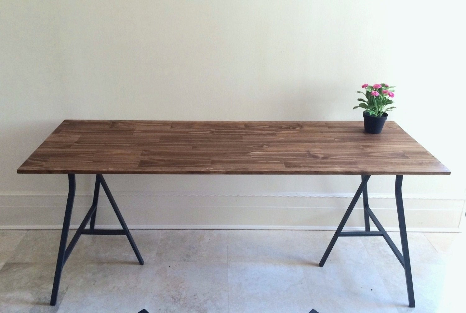 Best ideas about Long Narrow Dining Table . Save or Pin Narrow Long Dining Table Wood Dining Table Rustic by Now.