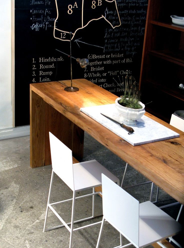 Best ideas about Long Narrow Dining Table . Save or Pin would love 2 long narrow tables one for laptop desk Now.
