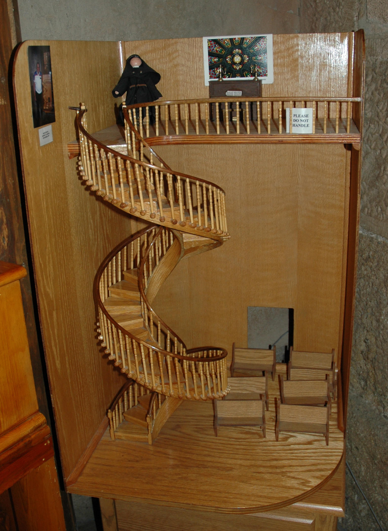 Best ideas about Loretto Chapel Staircase Explained . Save or Pin File Loretto Chapel model Wikimedia mons Now.