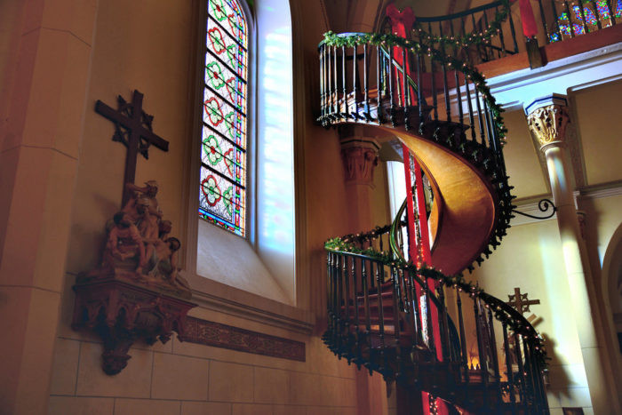 Best ideas about Loretto Chapel Staircase Explained . Save or Pin Visit Loretto Chapel In Santa Fe New Mexico Now.