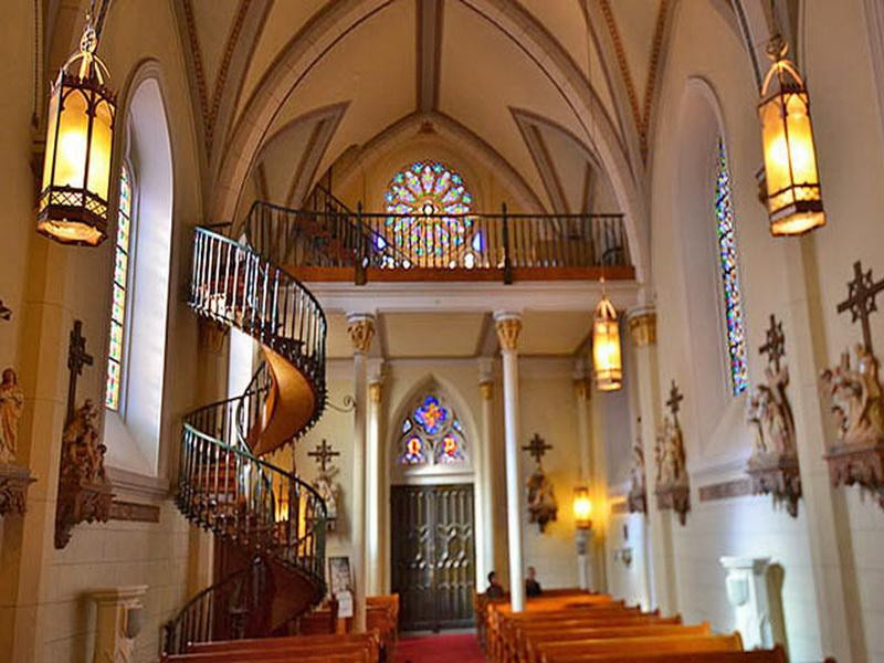 Best ideas about Loretto Chapel Staircase Explained . Save or Pin Decoration Loretto Chapel Spiral Staircase Lighting Now.