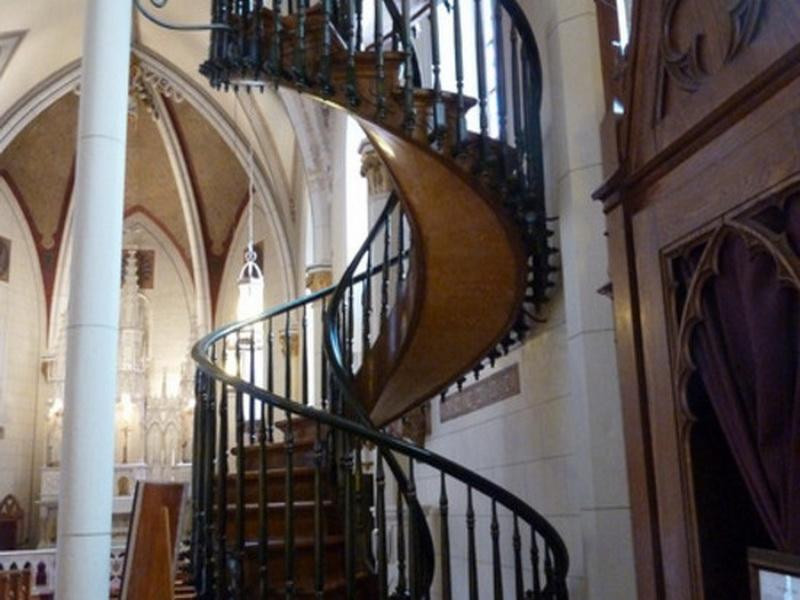 Best ideas about Loretto Chapel Staircase Explained . Save or Pin Decoration Loretto Chapel Staircase Architectural Design Now.
