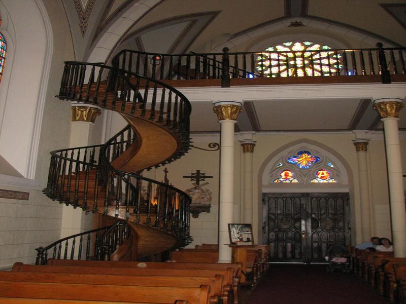 Best ideas about Loretto Chapel Staircase Explained . Save or Pin Decoration Loretto Chapel Staircase Spiral Staircase Now.