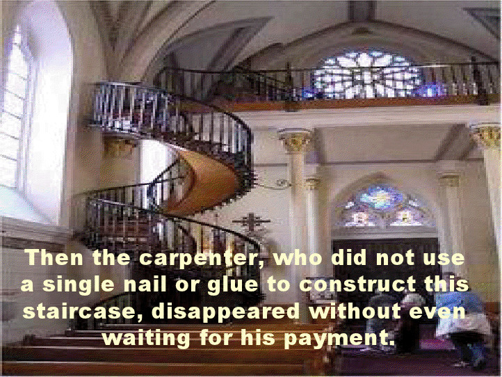 Best ideas about Loretto Chapel Staircase Explained . Save or Pin SPIRITUAL BLISS THE MYSTERIOUS STAIRCASE Now.