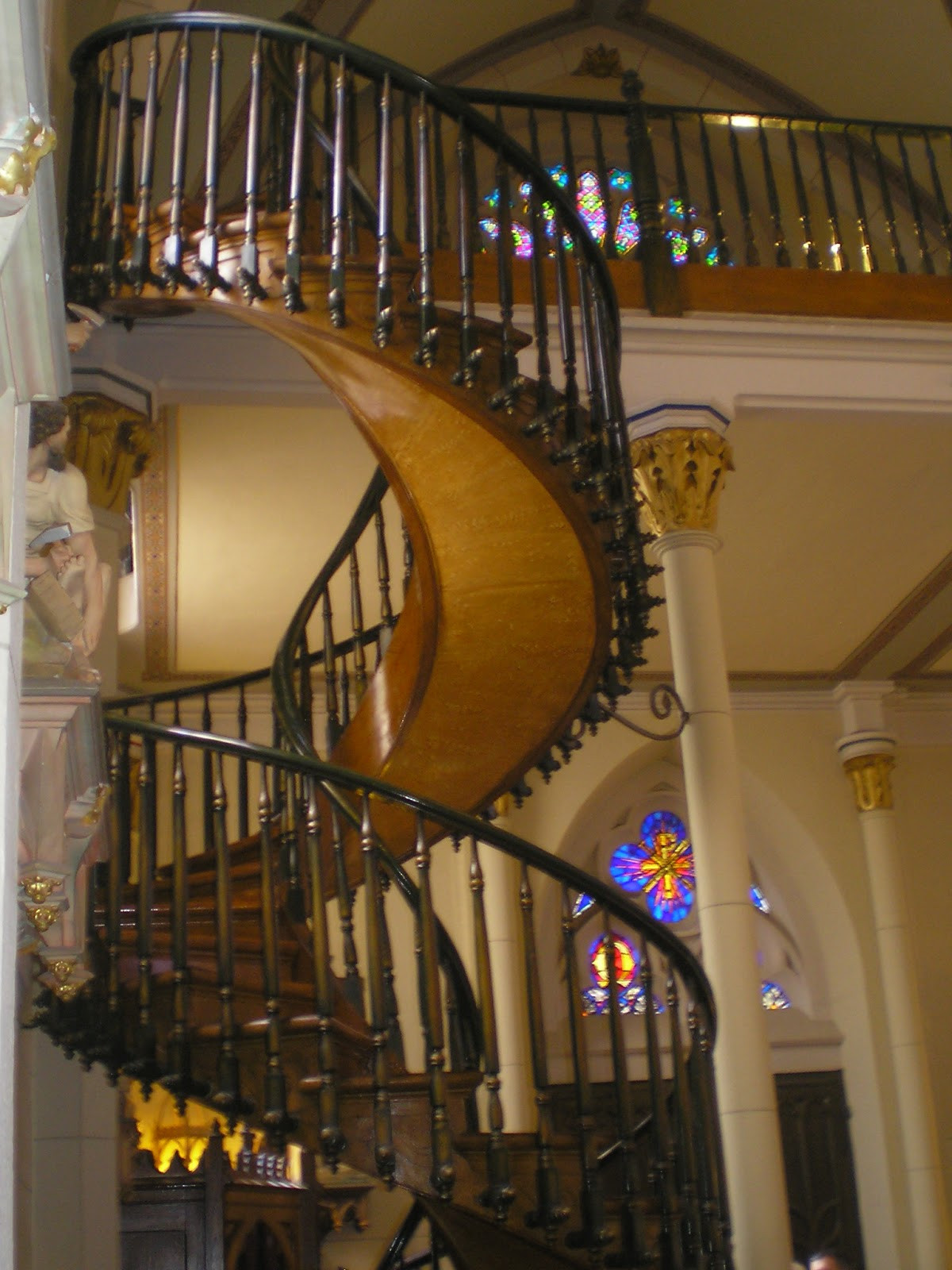 Best ideas about Loretto Chapel Staircase Explained . Save or Pin Sponge Full of Thoughts Another Pilgrimage Now.