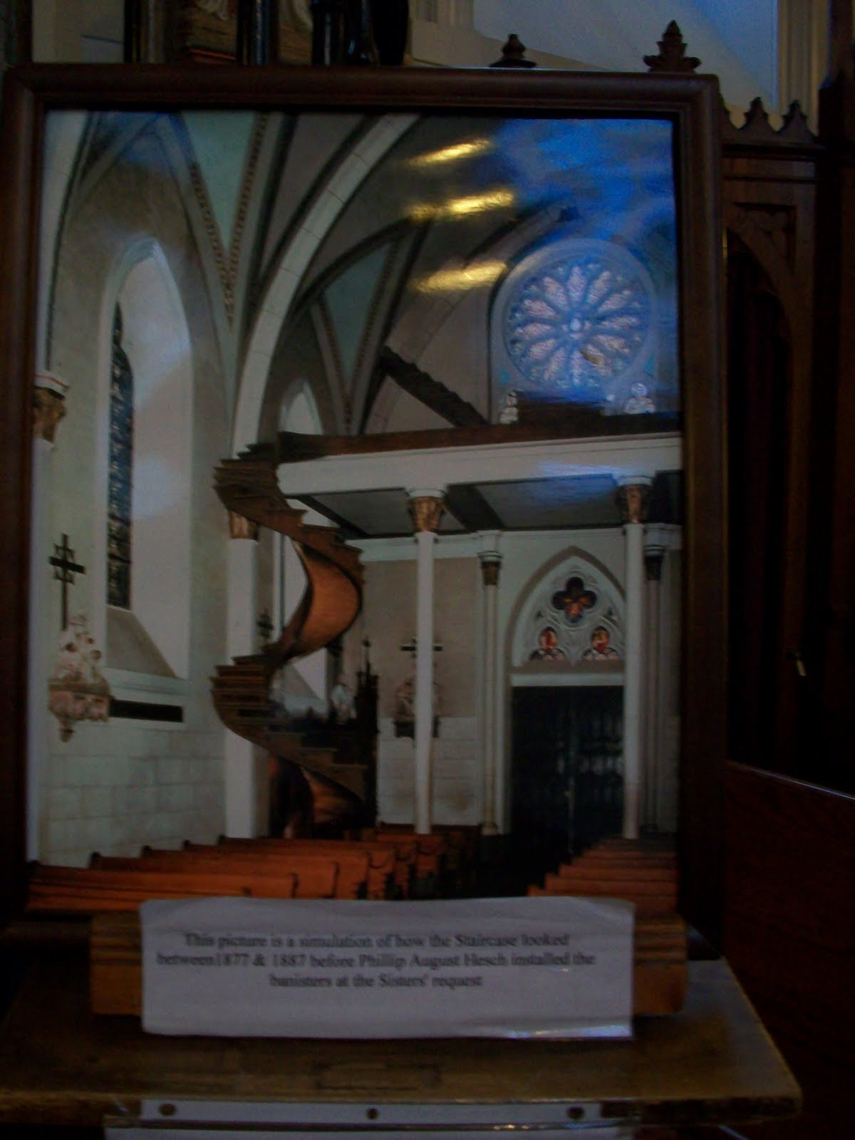 Best ideas about Loretto Chapel Staircase Explained . Save or Pin Artylu Travels 2010 Grand Canyon to Santa Fe NM Now.