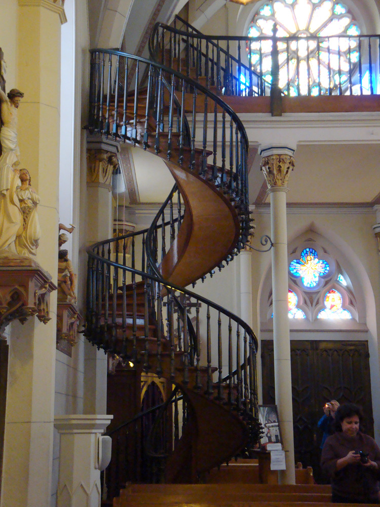 Best ideas about Loretto Chapel Staircase Explained . Save or Pin tasty Now.