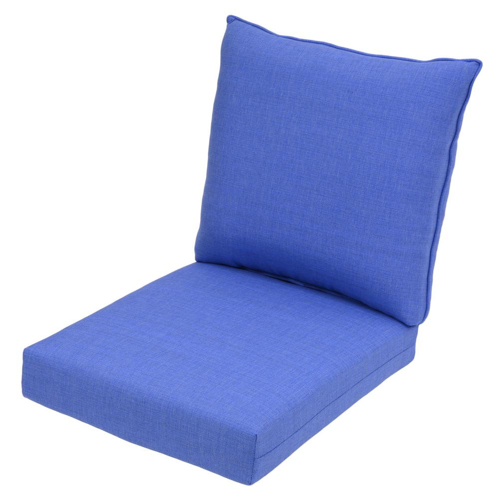 Best ideas about Lounge Chair Cushions . Save or Pin Periwinkle 2 Piece Deep Seating Outdoor Lounge Chair Now.
