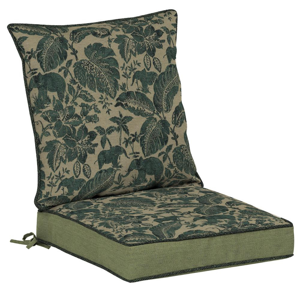 Best ideas about Lounge Chair Cushions . Save or Pin Martha Stewart Living Charlottetown Washed Blue Now.