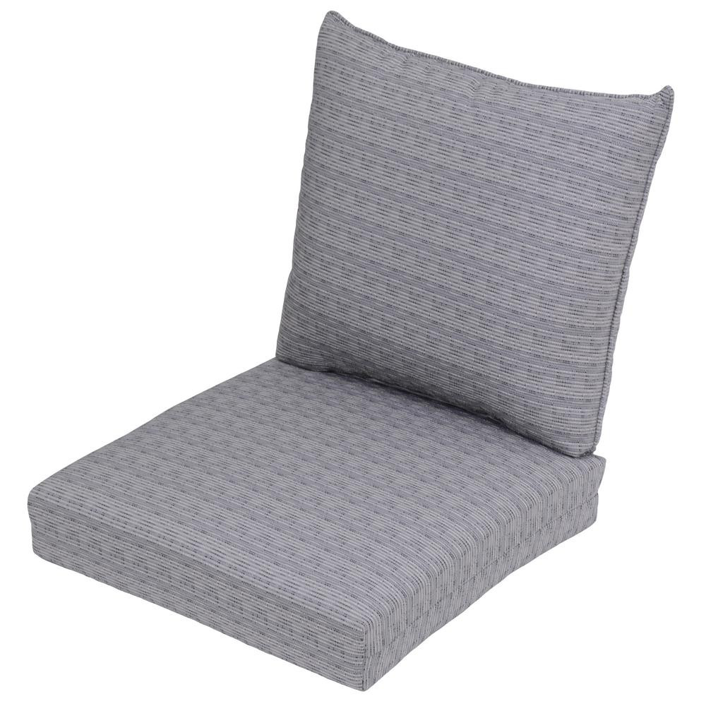 Best ideas about Lounge Chair Cushions . Save or Pin Hampton Bay Spring Haven 23 25 x 27 Outdoor Chair Cushion Now.