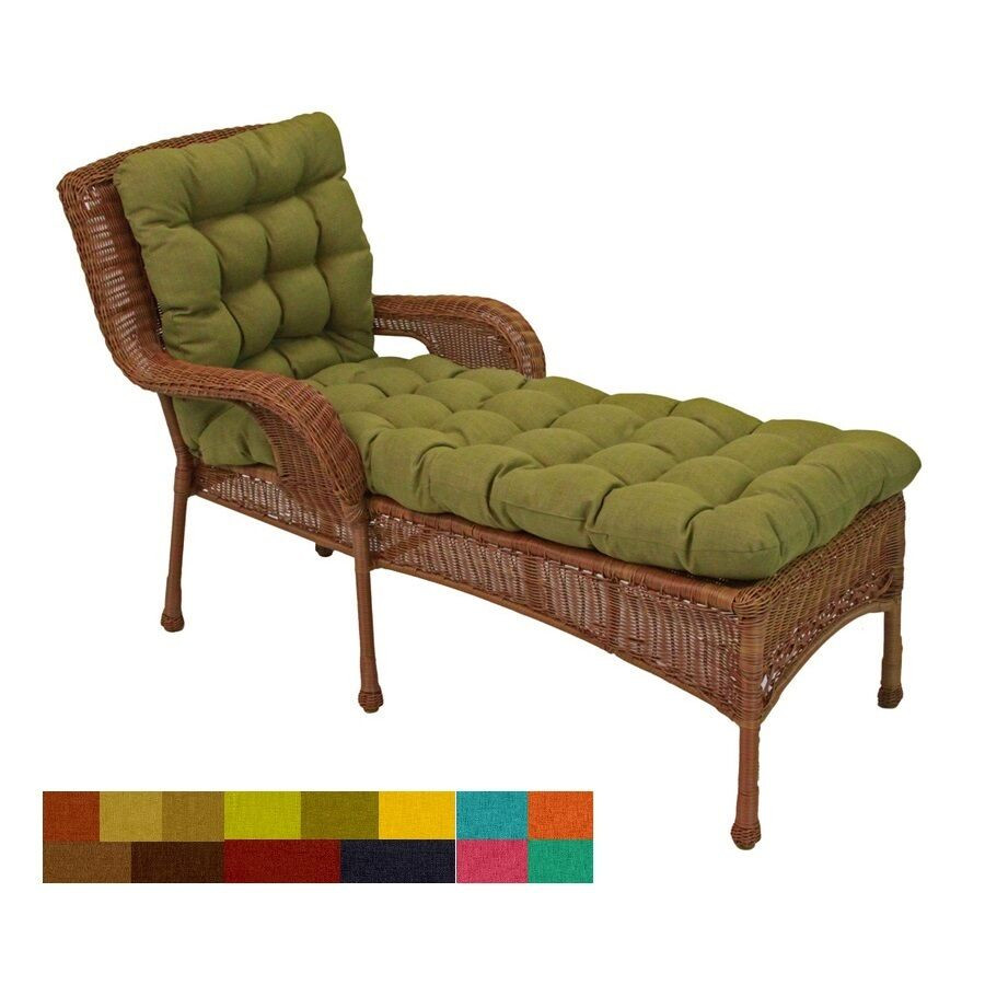 Best ideas about Lounge Chair Cushions . Save or Pin Outdoor Chaise Lounge Chair Cushions Porch Yard Patio Deck Now.