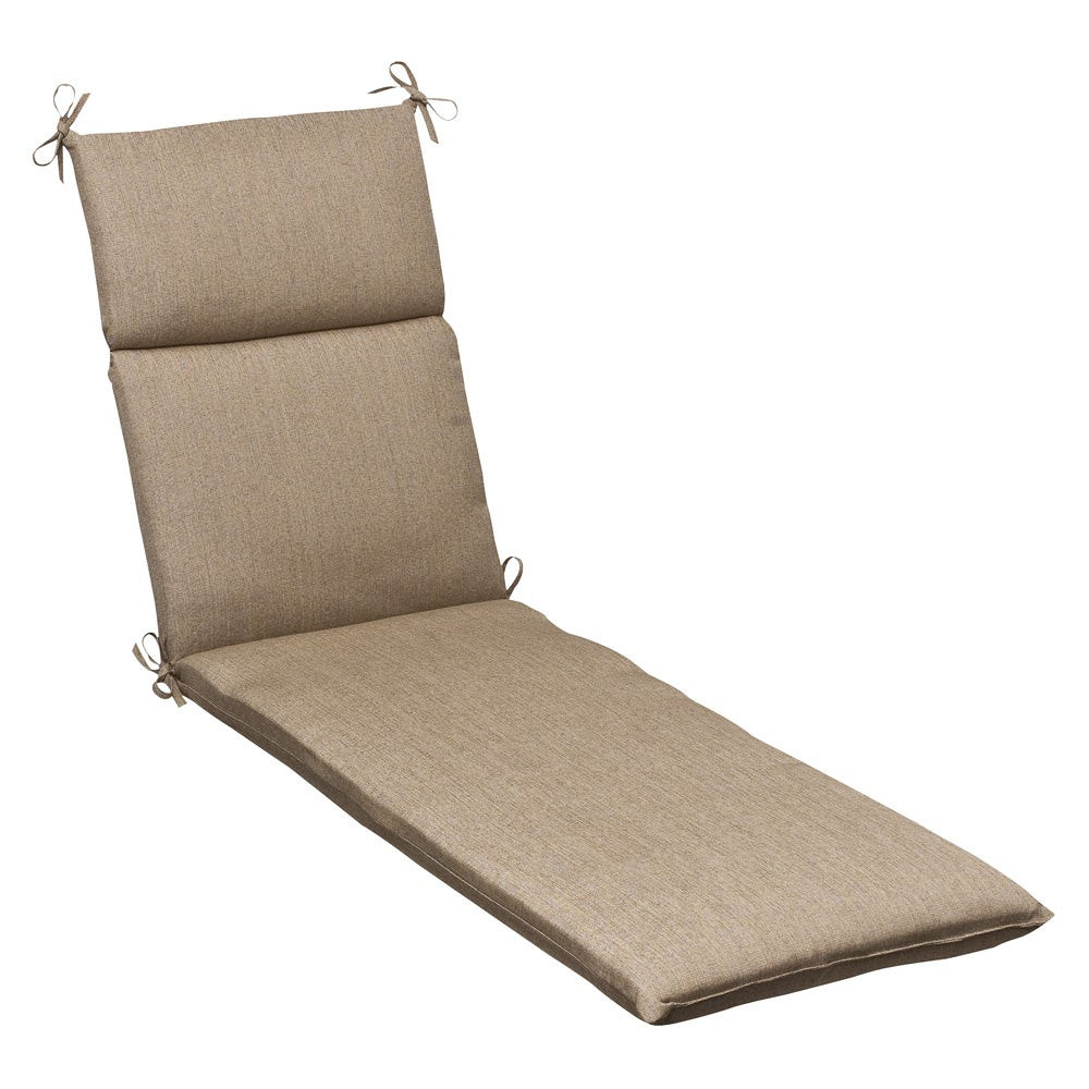 Best ideas about Lounge Chair Cushions . Save or Pin Outdoor Tan Textured Chaise Lounge Cushion w Sunbrella Now.