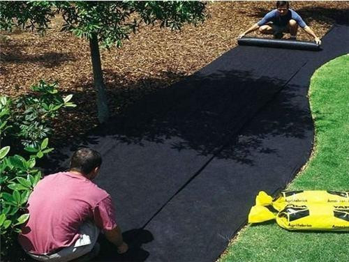 Best ideas about Lowes Landscape Fabric . Save or Pin garden weed barrier lowes 3 Ft X 300 Ft Weed Control Now.