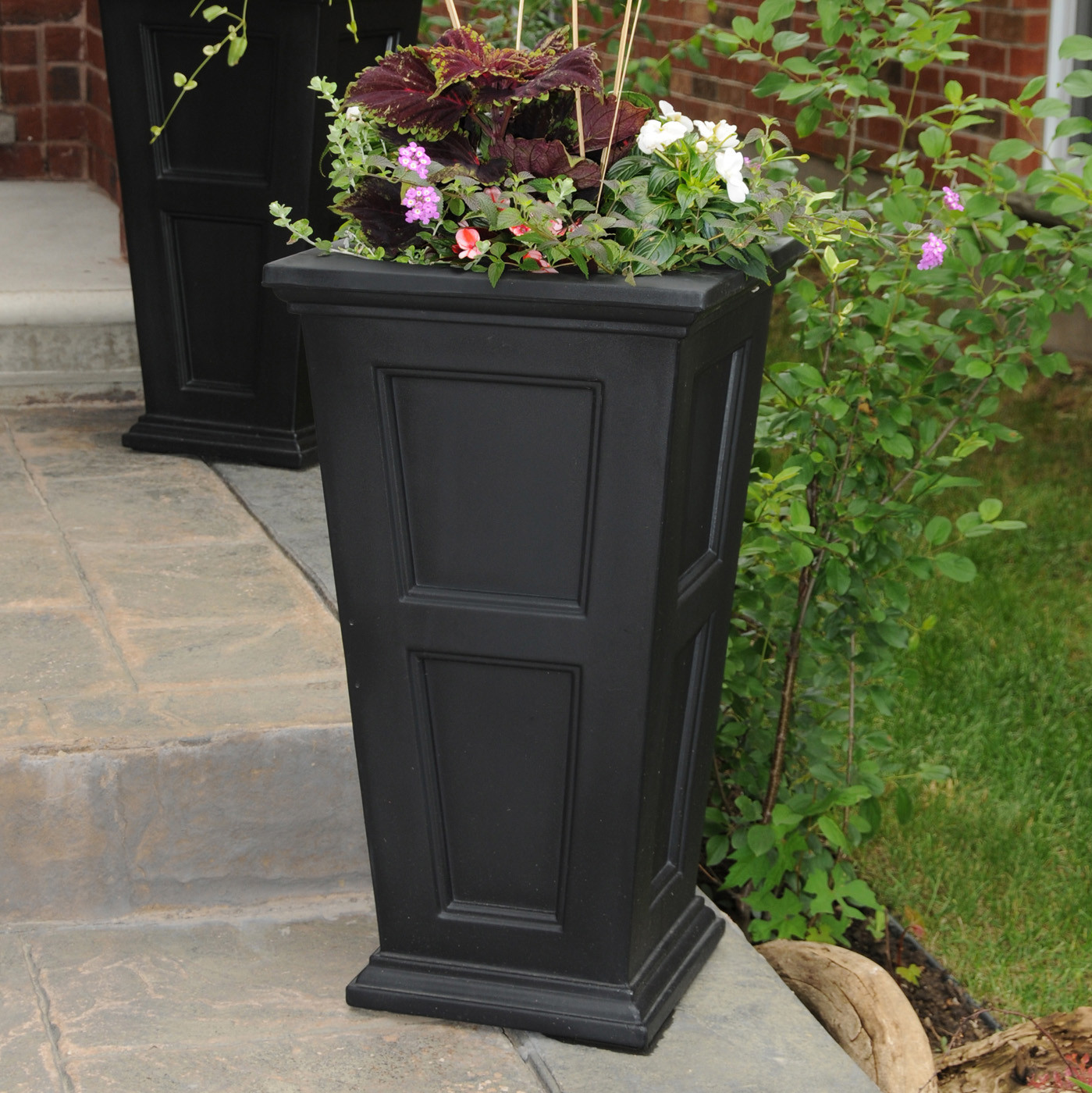 Best ideas about Lowes Outdoor Planters . Save or Pin Mayne 5829 Fairfield Tall Planter Now.