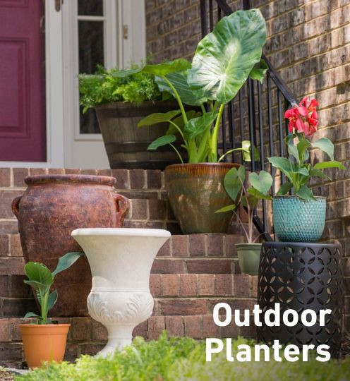 Best ideas about Lowes Outdoor Planters . Save or Pin Planters Stands & Window Boxes Now.