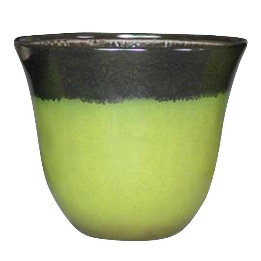 Best ideas about Lowes Outdoor Planters . Save or Pin allen roth 18 in Glazed Indoor Outdoor Planter Now.
