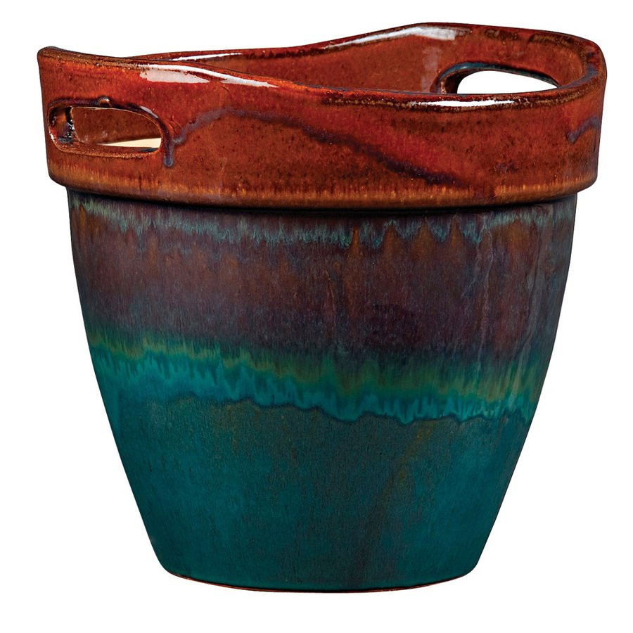 Best ideas about Lowes Outdoor Planters . Save or Pin New England Pottery 9 5 in Honey Planter Now.