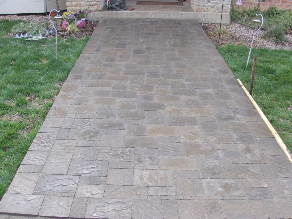 Best ideas about Lowes Patio Stones . Save or Pin Antique 16x16 Pavers Brick — The Wooden Houses Now.