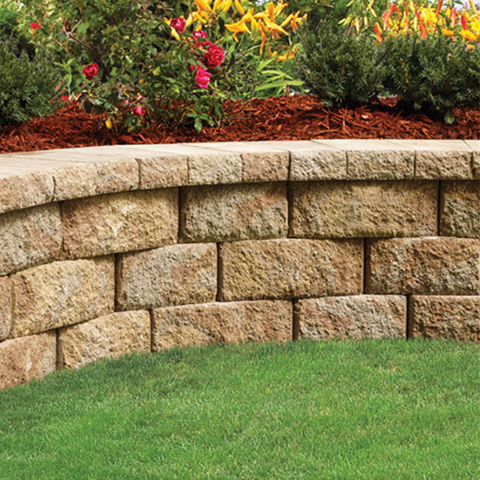 Best ideas about Lowes Patio Stones . Save or Pin Wall Blocks Pavers and Edging Stones Guide Now.