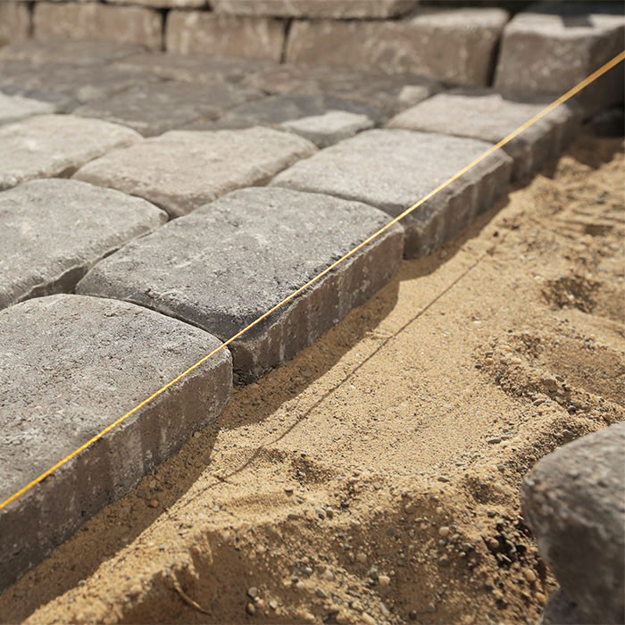 Best ideas about Lowes Patio Stones . Save or Pin How to Design and Build a Paver Patio Now.