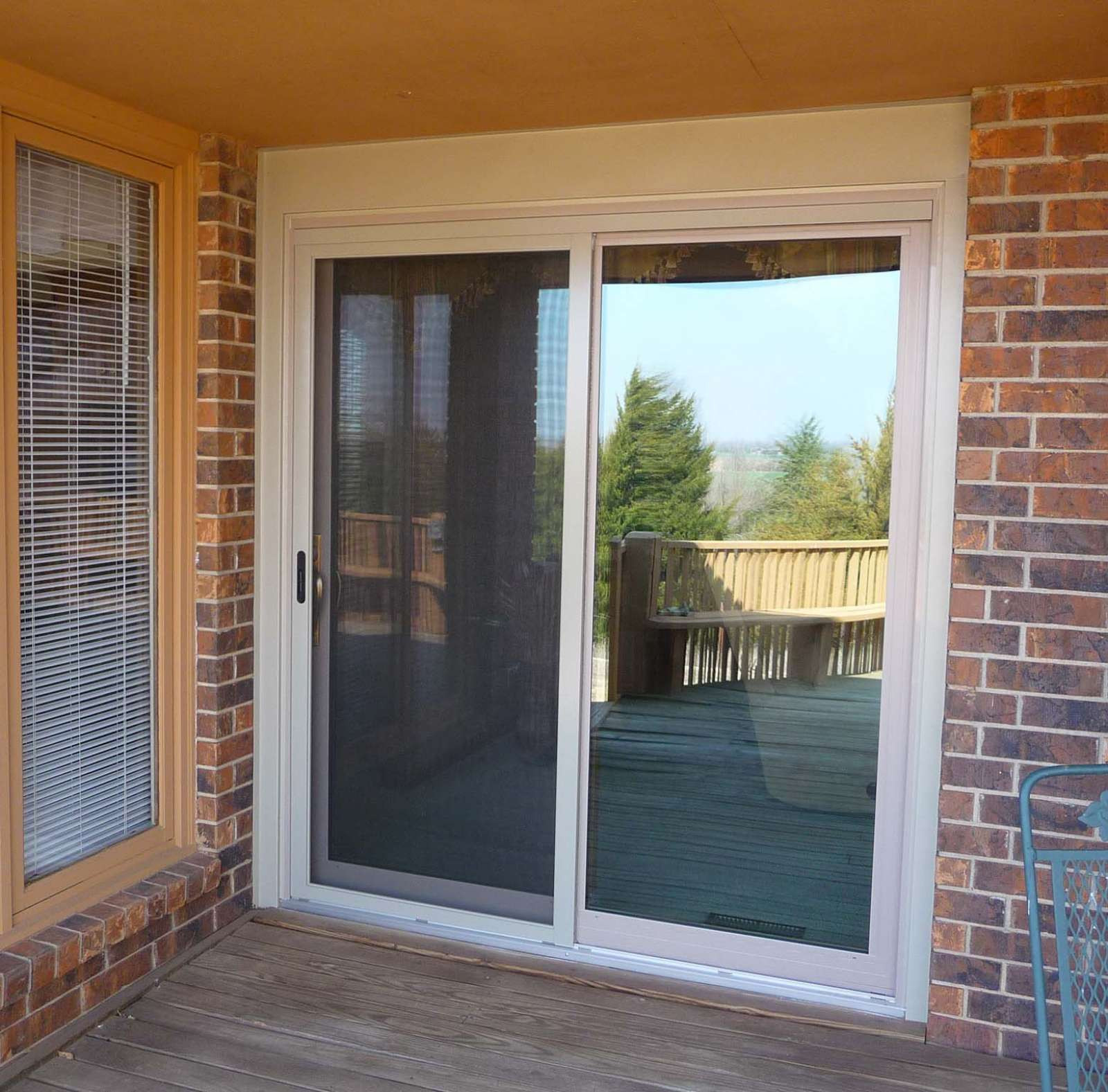Best ideas about Lowes Sliding Patio Doors . Save or Pin Lowes Sliding Screen Door peytonmeyer Now.