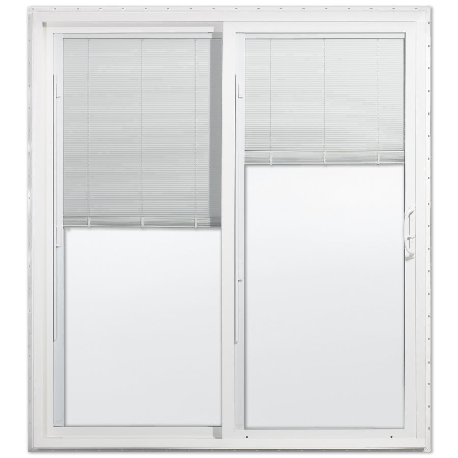 Best ideas about Lowes Sliding Patio Doors . Save or Pin Jeld Wen Dual pane Vinyl Sliding Patio Door Now.