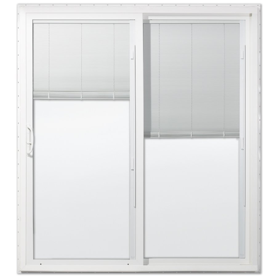 Best ideas about Lowes Sliding Patio Doors . Save or Pin Jeld Wen Low E Vinyl Sliding Patio Door with Blinds Now.