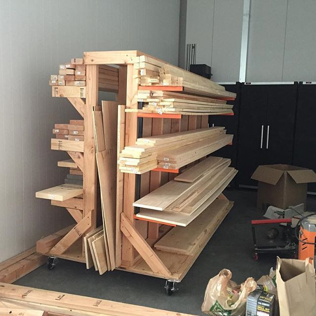 Best ideas about Lumber Rack DIY . Save or Pin Best 25 Lumber storage ideas on Pinterest Now.