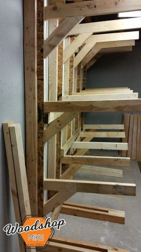 Best ideas about Lumber Rack DIY . Save or Pin How to Make a Modular Lumber Rack Now.