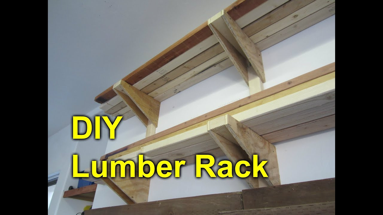 Best ideas about Lumber Rack DIY . Save or Pin Garage Lumber Rack Easy Cheap DIY Project Now.