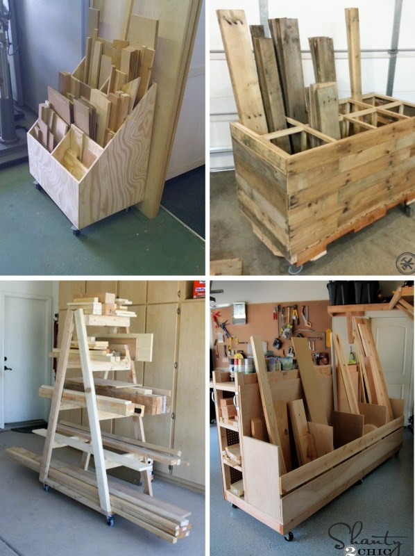 Best ideas about Lumber Rack DIY . Save or Pin Scrap Wood Storage Rack Out of Scrap Wood – Plaster Now.