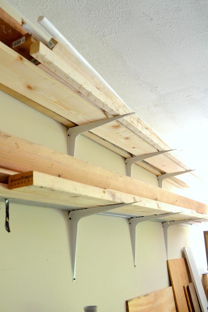 Best ideas about Lumber Rack DIY . Save or Pin Cheap and Easy DIY Lumber Rack • Ugly Duckling House Now.