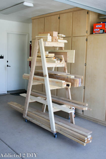 Best ideas about Lumber Rack DIY . Save or Pin DIY Mobile Lumber Rack Addicted 2 DIY Now.