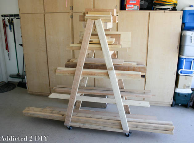 Best ideas about Lumber Rack DIY . Save or Pin Easy Portable Lumber Rack Free DIY Plans  Rogue Engineer Now.