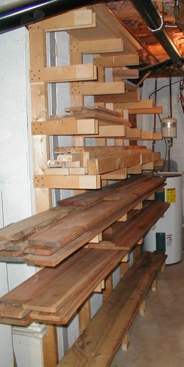 Best ideas about Lumber Storage Ideas . Save or Pin Build an easy portable lumber rack Now.