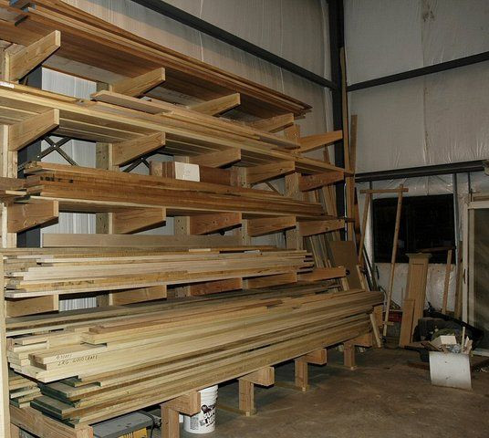 Best ideas about Lumber Storage Ideas . Save or Pin Plywood and Lumber Rack Ideas Now.