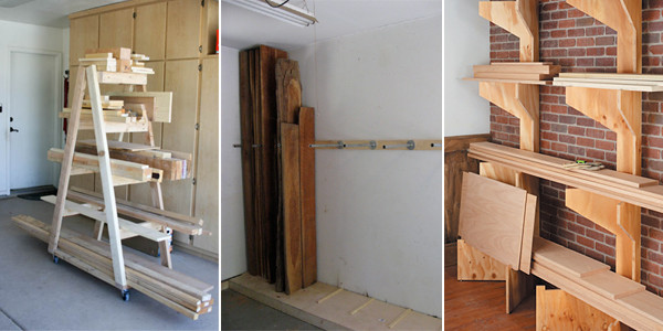 Best ideas about Lumber Storage Ideas . Save or Pin 10 Clever & Bud Friendly DIY Scrap Wood Storage Ideas Now.