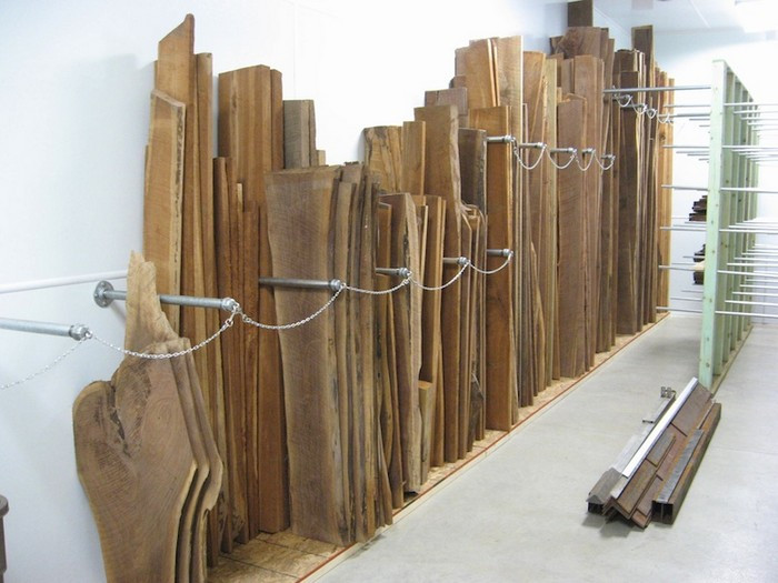 Best ideas about Lumber Storage Ideas . Save or Pin Build your own portable lumber rack Now.
