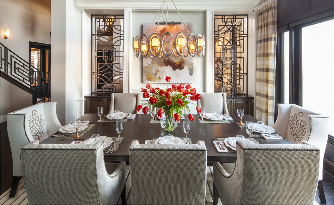 Best ideas about Luxury Dining Room . Save or Pin Hamptons Inspired Luxury Dining Room 1 Before and After Now.
