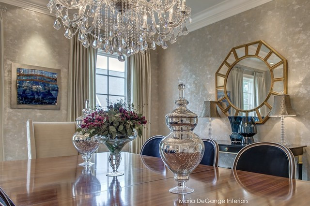 Best ideas about Luxury Dining Room . Save or Pin Luxury Dining Room Traditional Dining Room st louis Now.