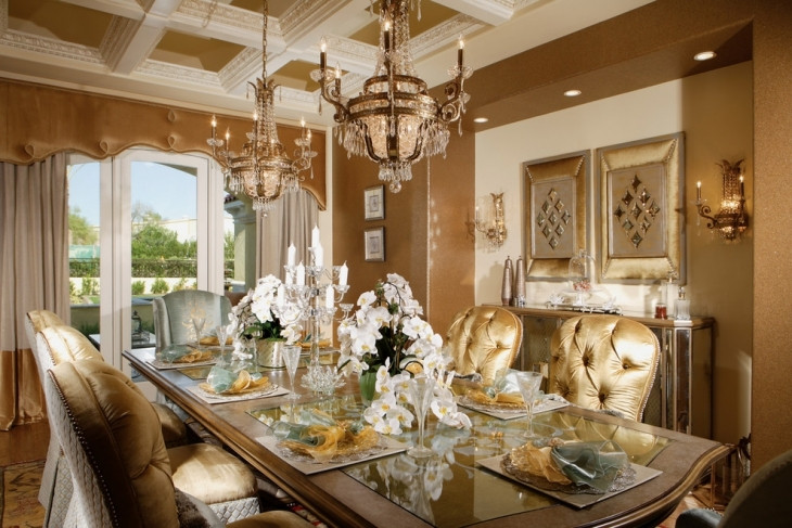 Best ideas about Luxury Dining Room . Save or Pin 20 Luxury Dining Room Designs Decorating Ideas Now.